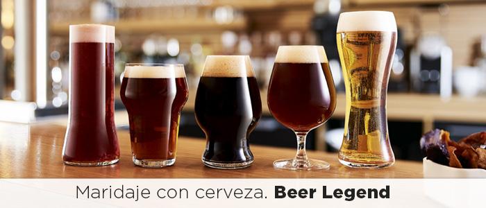 maridaje,cerveza,maridaje con cerveza,legend