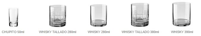 vasos,whisky,giona,menaje,galicia,distribuidor